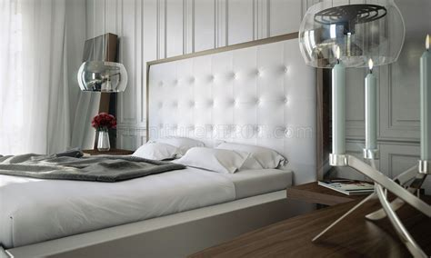 Oversized Headboard by White Walnut Md317 Bed By Modloft W Oversized Tufted