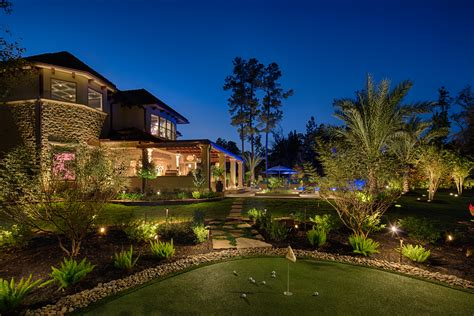 commercial landscape lighting landscape lighting photo gallery commercial