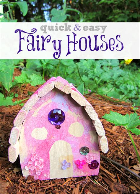 Quick & Easy Fairy House Craft For Kids   No Time For