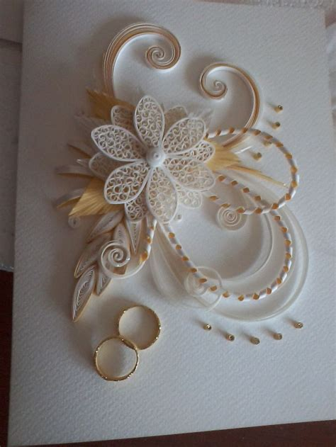 Handmade Greeting Cards Paper Quilling - wedding quilling card handmade cards and boxes