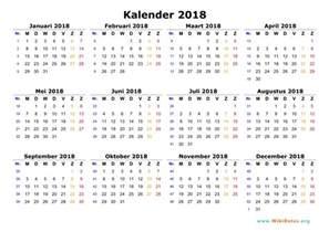 Pdf Kalender 2018 Kalender 2018 Wikidates Org