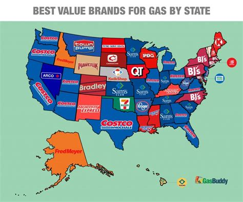 cheapest states in usa cheap gas here s where to find the lowest price in every