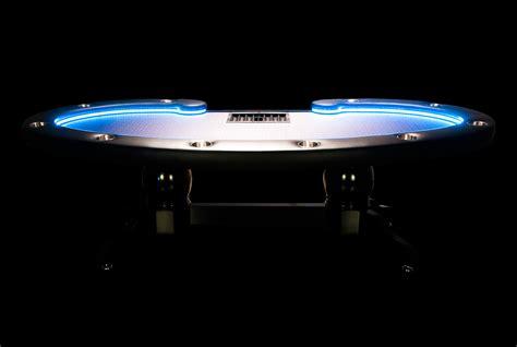 lumen hd poker table  led lighting system  shipping p