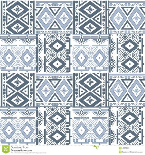Seamless Tribal Pattern | seamless tribal texture pattern stock illustration image