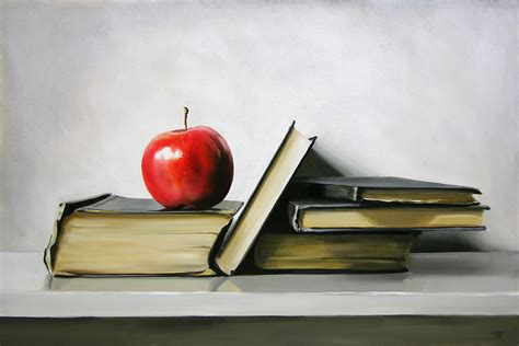apple book art wednesday books and reading