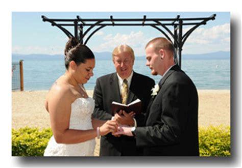 Wedding Vows Pastor by Lake Tahoe Wedding Ministers Pastors In Lake Tahoe