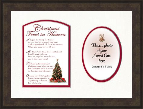 christmas trees in heaven memorial gift lordsart