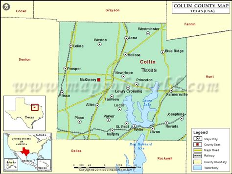 map of plano tx collin county map map of collin county