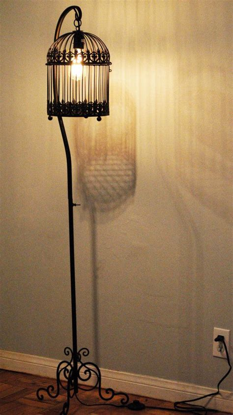 antique wrought iron floor ls 44 best images about vintage bird cage stand on pinterest