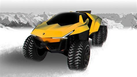 lexus that looks like a lamborghini lamborghini rat 243 n is what a suv taken to another