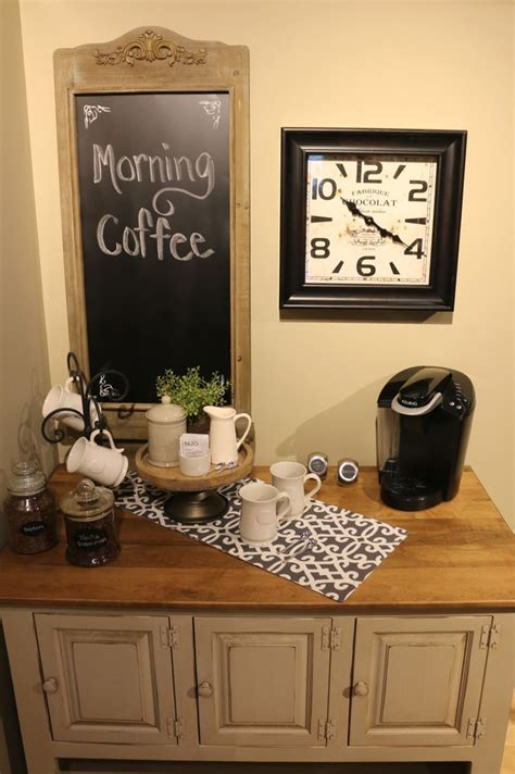 coffee nook ideas create a coffee bar in 4 simple steps kloter farms blog