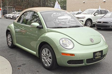 green volkswagen beetle convertible gecko green 2009 beetle convertible paint cross reference