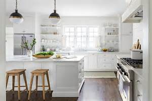 White Country Kitchens by Black And White Silhouette Stove Country Kitchen