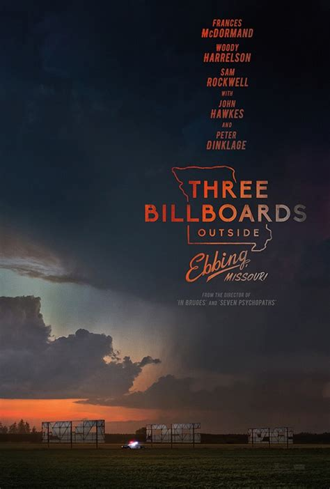three billboards outside ebbing missouri the screenplay books three billboards outside ebbing missouri poster e