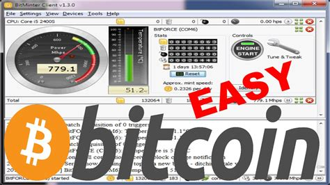 Software Mining Bitcoin 1 by How To Quickly Start Mining Bitcoins Easy