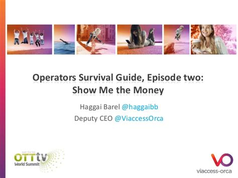 a ceo s survival guide to information technology books operators survival guide episode 2 show me the money