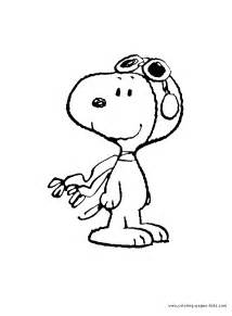 pics photos snoopy color peanuts cartoon characters coloring pages color