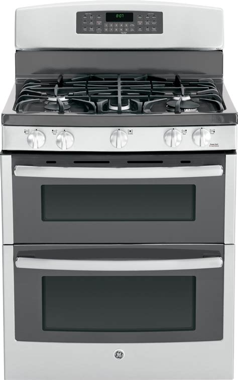 Oven Gas Standing jgb870sefss ge 30 quot free standing gas oven range with convection stainless steel
