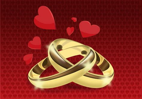 Wedding Rings Vector Free by Wedding Rings Vector Vector Graphics Freevector