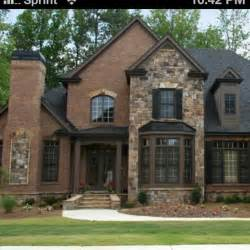 Exterior Home Colors With Brick » Home Design 2017