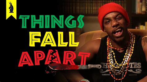 things fall appart things fall apart thug notes summary and analysis youtube