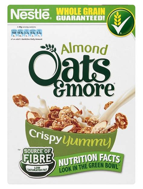Oatbits Oat 8 Almond 28 5g healthy cereal the best and worst cereals revealed