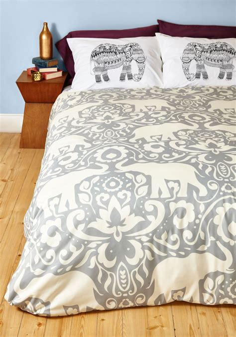 modcloth bedding trunk beds duvet cover in full queen though your sleeping