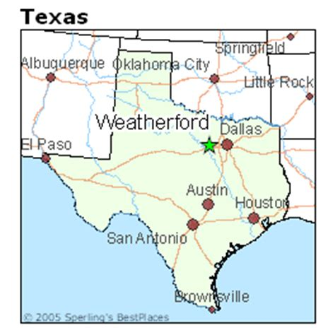 where is weatherford texas on the map best places to live in weatherford texas