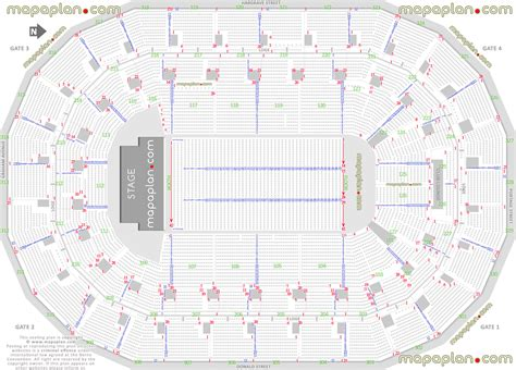 mts centre floor plan mts centre detailed seat row numbers end stage concert sections floor plan map with arena