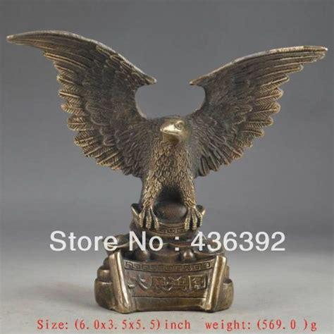brass superb handwork carving eagle