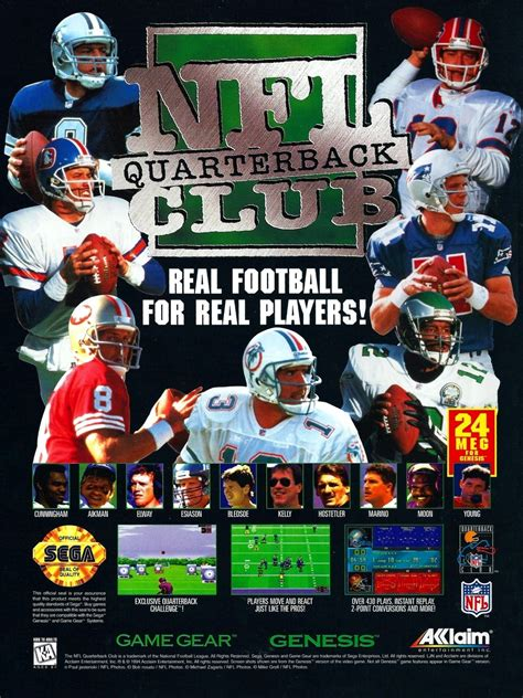 nfl quarterback club details launchbox games