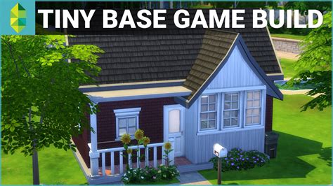 house builder game the sims 4 house building tiny base game 10k budget