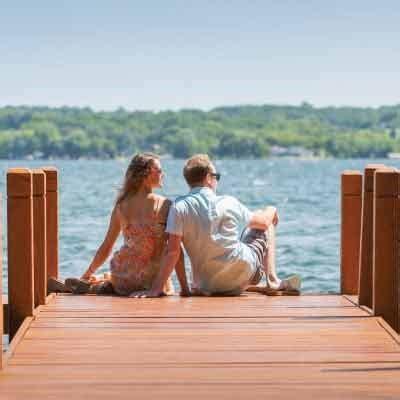 Sweet Escape Weekend Getaway by Wisconsin Weekend Getaways Heidel House Green Lake Wi