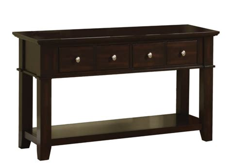 Entryway Table With Drawers Furniture Rectangle Brown Polished Wooden Entryway Tables With Four Drawers And Single