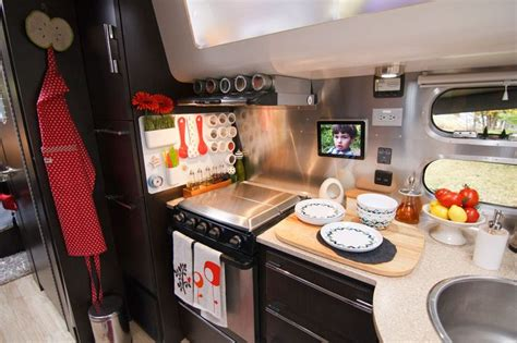 travel trailer decorating ideas inside an airstream travel trailer airstream travel