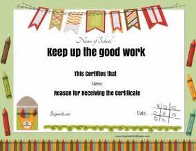 free certificates amp awards