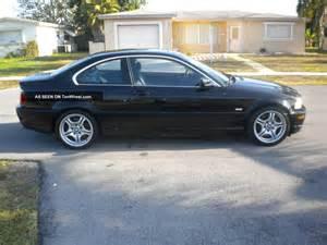 2002 Bmw 330ci 2002 Bmw 330ci Coupe Auto 2 Door 3 0l Black On Black