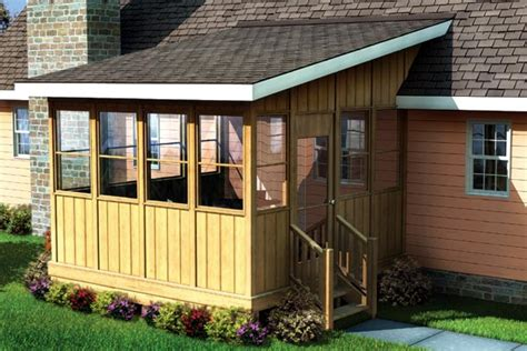 three season porch plans project plan 90013 three season porch