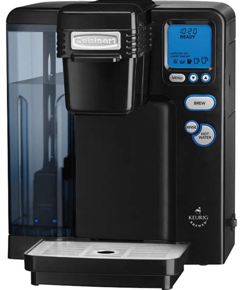 Cuisinart Keurig K Cup Single Serve Brewing System Black   Contemporary   Coffee Makers And Tea