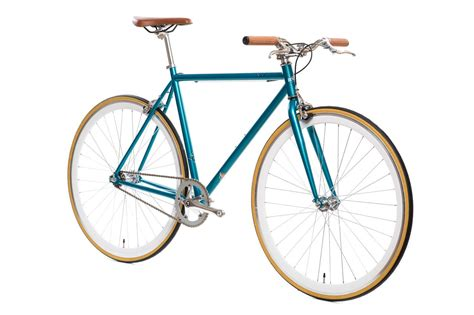 matte teal beorn matte teal fixie fixed gear bikes state