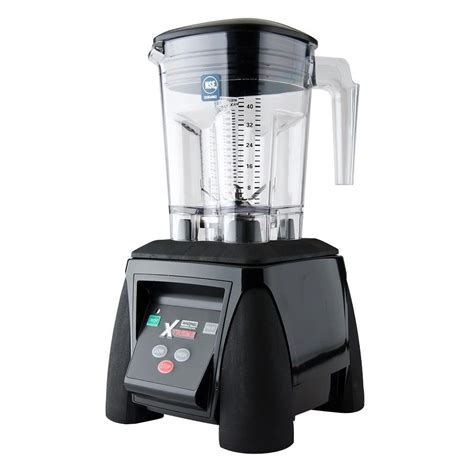 Blender Waring waring mx1050xtxp xtreme 3 1 2 hp commercial blender with electronic keypad and 48 oz
