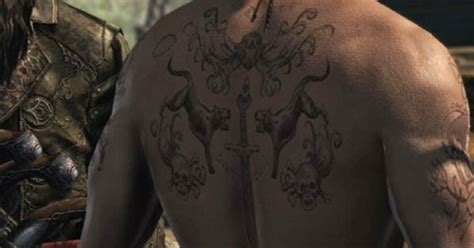 tattoo assassins moves edward kenway tattoos assassin s creed pinterest