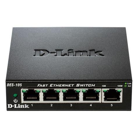 Switch D Link d link 5 port 10 100 fast ethernet switch des 105 the home depot