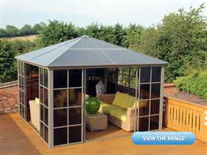 Plastic Covers For Patio Furniture by Polycarbonate Roof Gazebo Review Amp Buying Guide Posh Garden