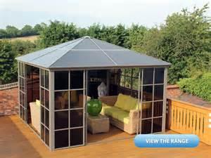 Posh Gazebo by Polycarbonate Roof Gazebo Review Amp Buying Guide Posh Garden