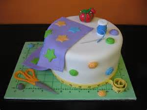 quilt cake and s 60th birthday