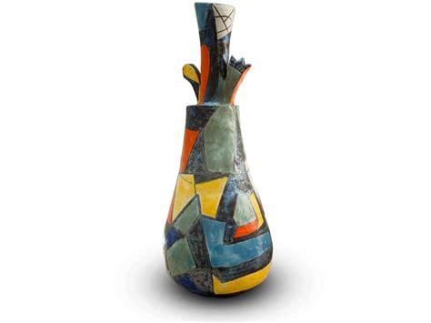 vasi vietri vasi scultura enzo caruso ceramiche vietri