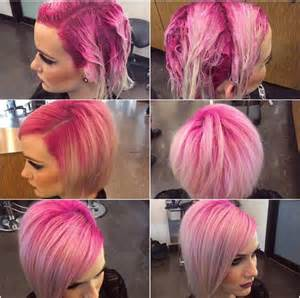 colored roots pink shadow root hair i shadows and