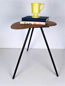 Tripod Side Table Vintage Wooden Tripod Side Table Pony Table By Forrestinavintage