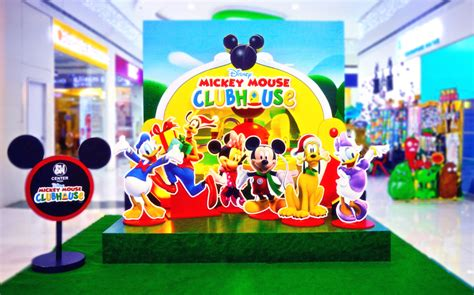 mickey mouse clubhouse christmas sm supermalls disney mickey mouse clubhouse at sm center pasig
